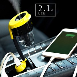 Product Car Charger Humidifier RT-C01 (Black/Yellow)
